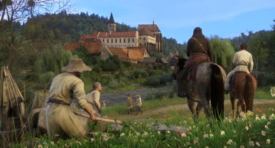 Kingdom Come Deliverance - игра с развитием персонажа на ПК