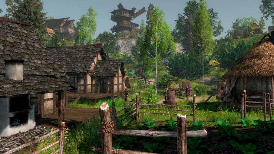 Life Is Feudal: Forest Village - игра выживание на ПК с крафтом и строительством