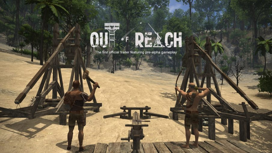 Out of Reach - игра про выживание на острове