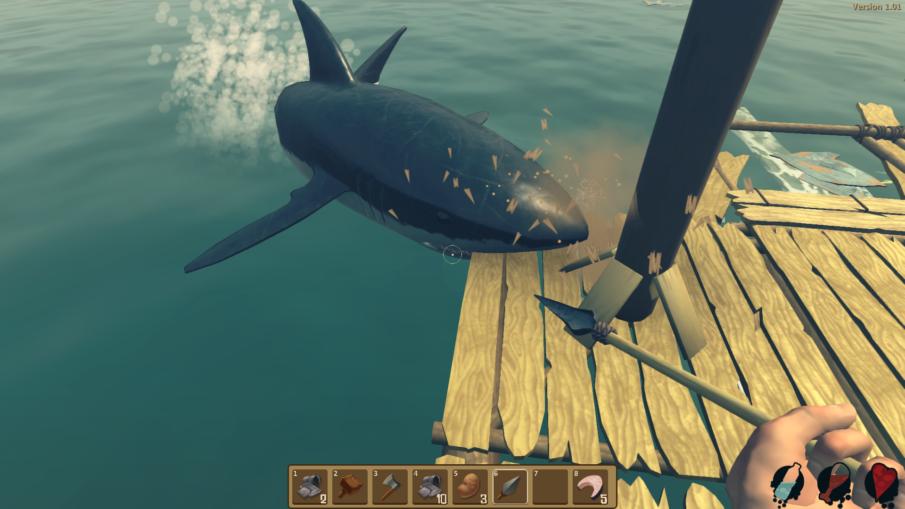 Raft - игра на ПК с открытым миром и свободой действий одиночная