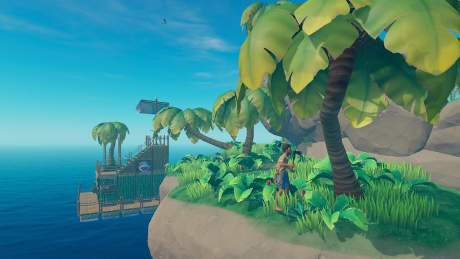 Raft - игры про выживание на острове