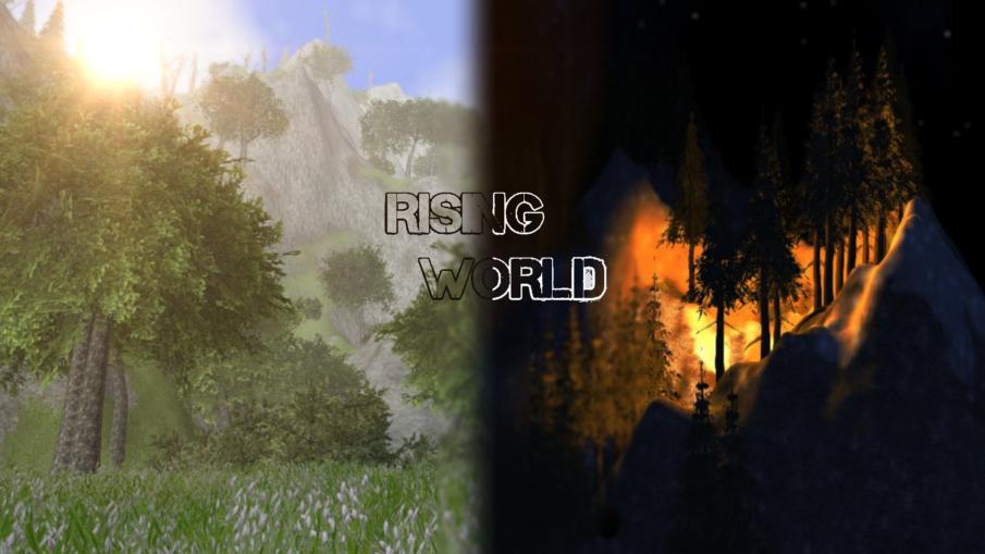 Rising world - игры про выживание на острове