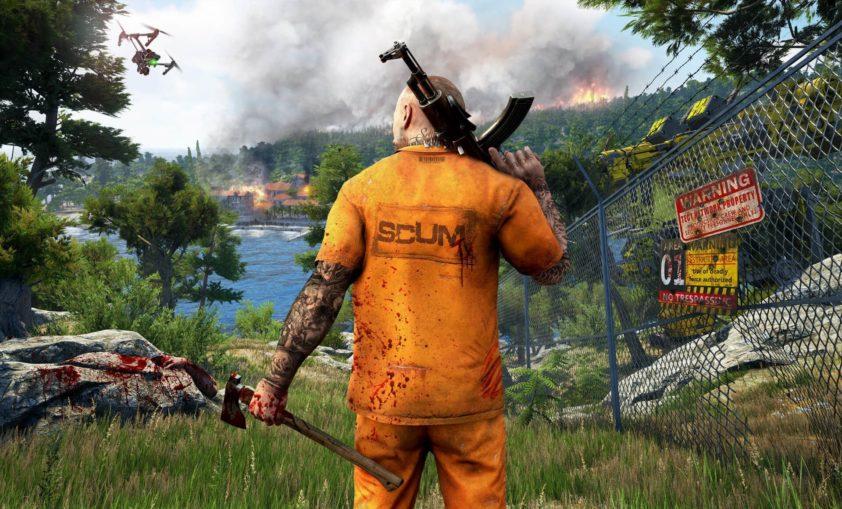 SCUM - игра с прокачкой персонажа и оружия на ПК