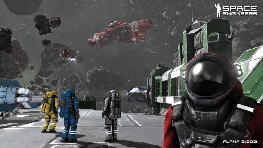 Space Engineers - игра выживание на ПК с крафтом и строительством
