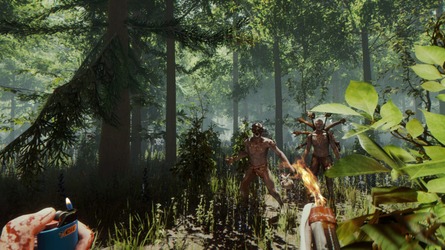 The Forest - игра про выживание на острове