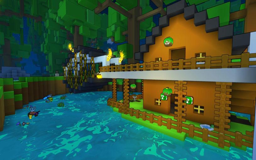 Trove - игра выживание на ПК с крафтом и строительством