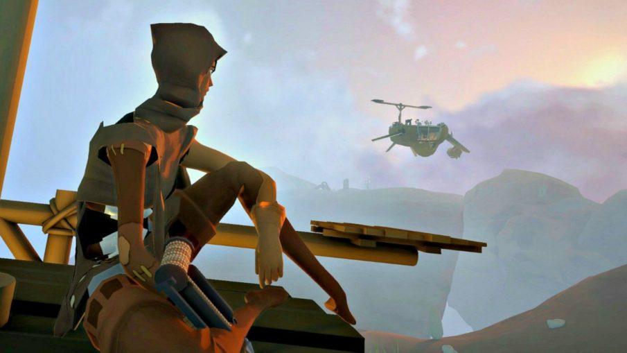 Worlds Adrift - игра выживание на ПК с крафтом и строительством