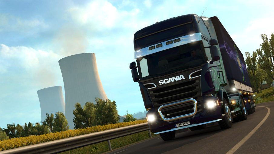 Euro Truck Simulator 2 - одиночная игра на ПК