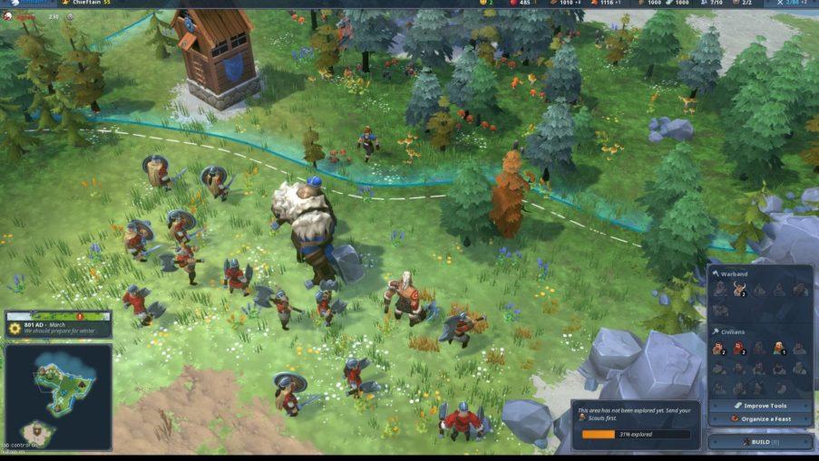 Northgard - одиночная игра на ПК