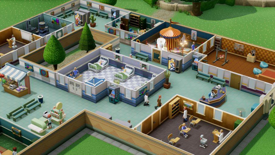 Two Point Hospital - одиночная игра на ПК