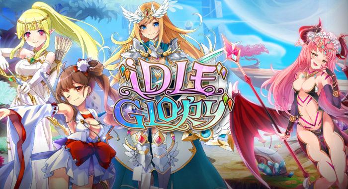 IDLE Glory - браузерная MMORPG в стиле аниме